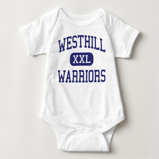 Westhill - Warriors - High - Syracuse New York Baby Bodysuit