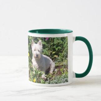 Westie 11 oz Ringer Mug A