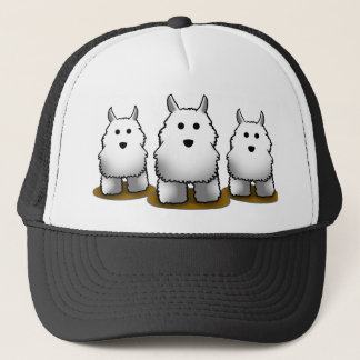 Westie Alpha Dog Trucker's Cap