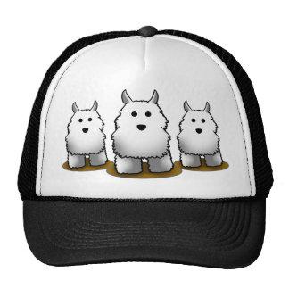 Westie Alpha Dog Trucker's Cap Trucker Hat