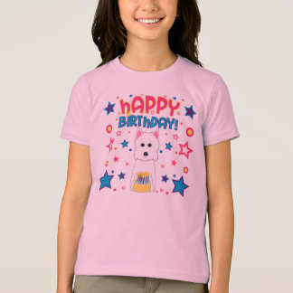 Westie Birthday T-Shirt