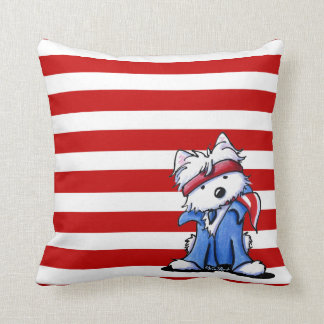 Westie Boss American MoJo Pillows