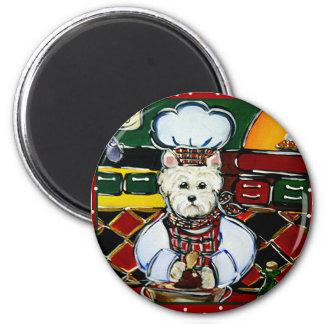 Westie Chef Magnet