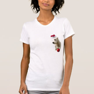 Westie Christmas Nightshirt T Shirts