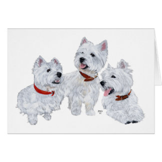 Westie Conference Card