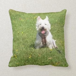 Westie cushion