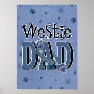 Westie DAD Print