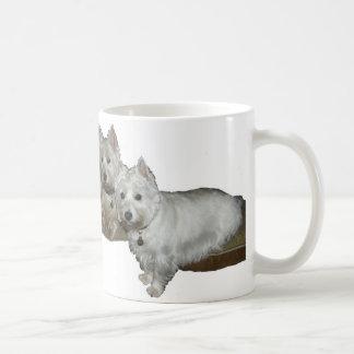Westie Desi and Lucy Coffee Mug