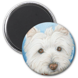 Westie Dog magnet