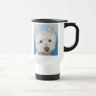Westie Dog travel mug