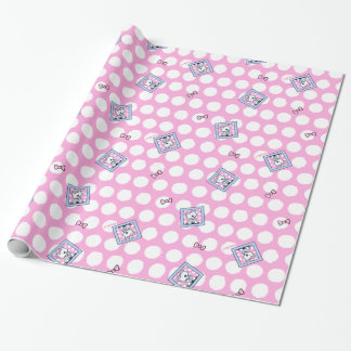 Westie Dot On Dots Wrapping Paper