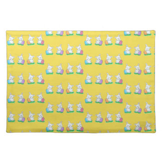Westie Easter Placemat