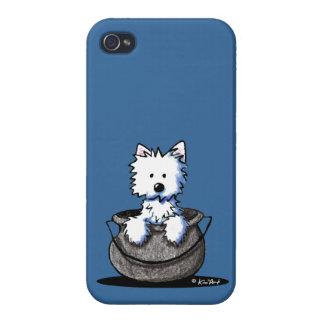Westie Halloween Cauldron Cutie iPhone 4 Case