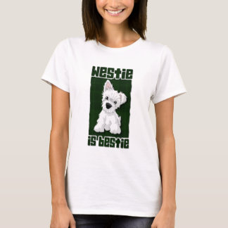 Westie Is Bestie T-Shirt