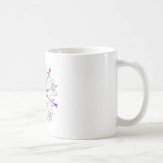 Westie kaleidoscope coffee mug