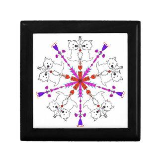 Westie kaleidoscope gift box