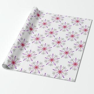 Westie kaleidoscope wrapping paper