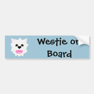 Westie Love Bumper Sticker