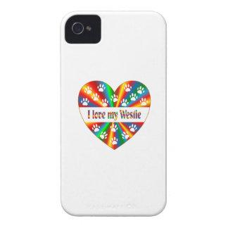 Westie Love iPhone 4 Case-Mate Cases