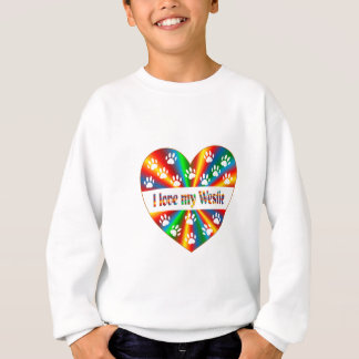 Westie Love Sweatshirt