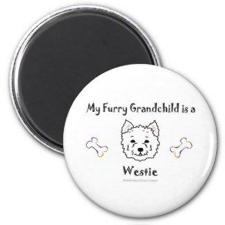 Westie Magnet