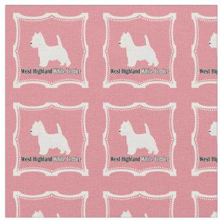 Westie No. 15 Fabric