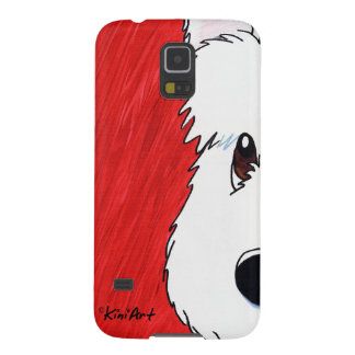 Westie On Red Cases For Galaxy S5