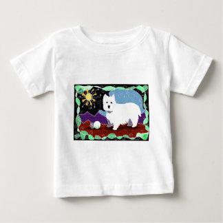 Westie Patchwork Baby T-Shirt