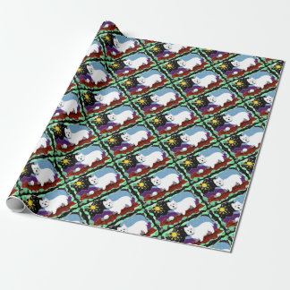 Westie Patchwork Wrapping Paper