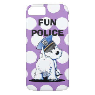 Westie POLICE iPhone Case