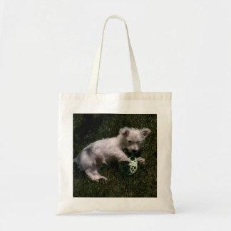 Westie Pup Tote Bag