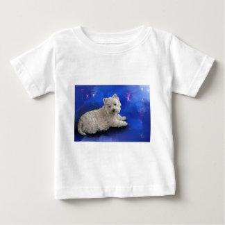 Westie Resting Baby T-Shirt