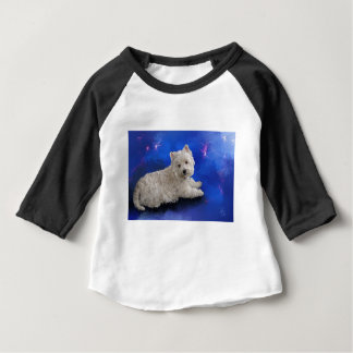 Westie Resting Baby T-Shirt