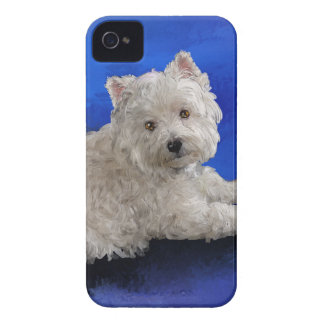 Westie Resting iPhone 4 Case-Mate Case