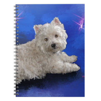 Westie Resting Notebook
