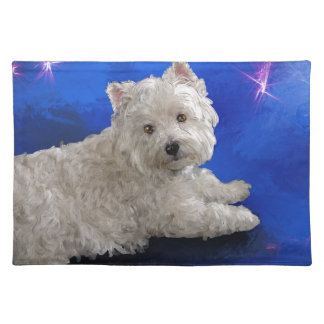 Westie Resting Placemat
