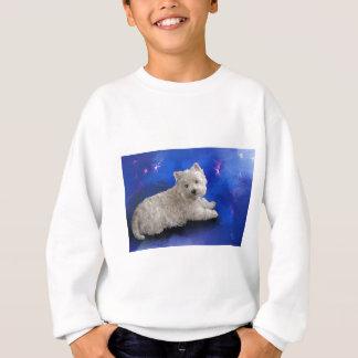 Westie Resting Sweatshirt