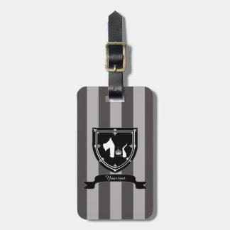 Westie Royal Crown Luggage Tag