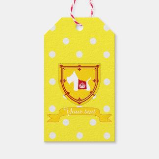 Westie Royal Crown Pack Of Gift Tags