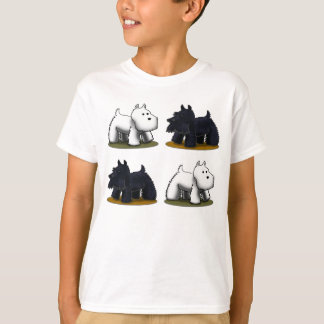 Westie, Scottie, Scottie, Westie T-Shirt