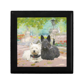 Westie & Scottie Tile Gift Box