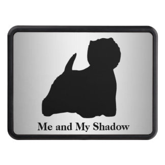Westie Silhouette Tow Hitch Cover