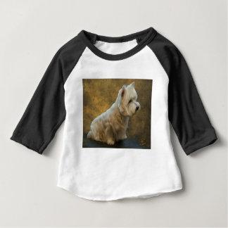 Westie sitting baby T-Shirt