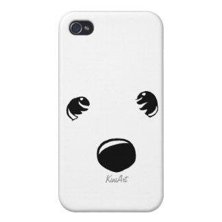 Westie Terrier Face iPhone 4 Cover