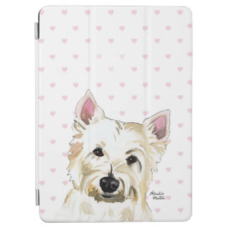 Westie Terrier ipad Tablet Case Protector Hearts iPad Air Cover