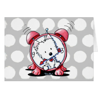 Westie Time Card