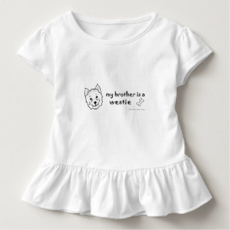 westie toddler t-shirt