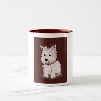 Westie Two-Tone Coffee Mug