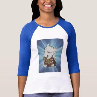 Westie Warrior Princess T-shirts