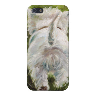 Westie West Highland Terrier Dog iPhone Case iPhone 5 Covers